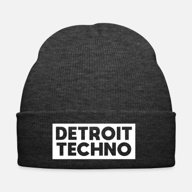 Chicago Detroit Techno - Gorro de invierno