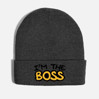 Style I'm The Boss Comic Style - Winter Hat