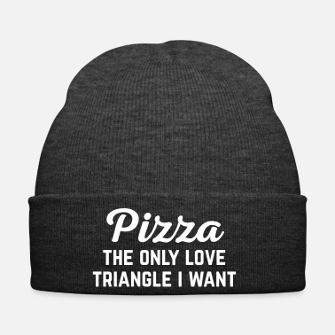 Pizza Pizza Love Triangle Funny Quote - Pipo