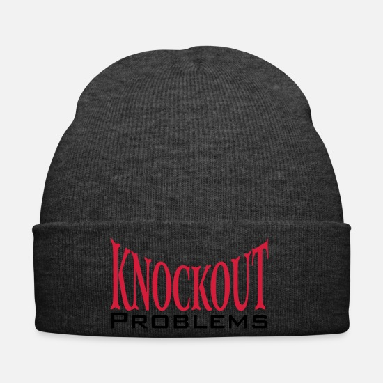 Knock Out Caps & Mützen - Knockout - Wintermütze Asphalt