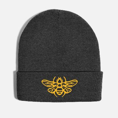 Save Bee honeybee bees drawing illustration - Winter Hat