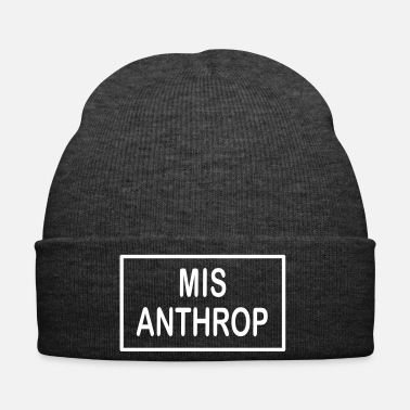 Emo MISANTHROP / human haters, emo, punk, rock, - Winter Hat