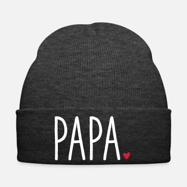 Daughter Dad Heart - Gift Father's Day Dear Family - Winter Hat