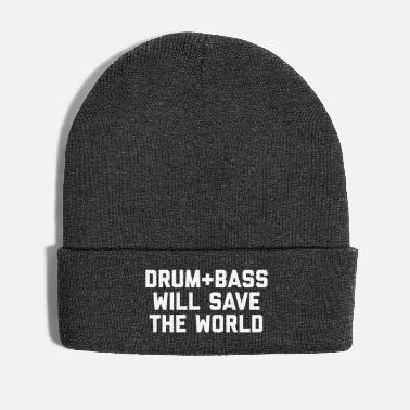 Save The World Drum + Bass Save World EDM Quote - Winter Hat