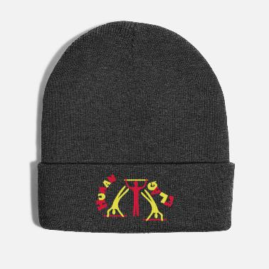 Street Dance Human Flag Calisthenics Street Workout - Winter Hat