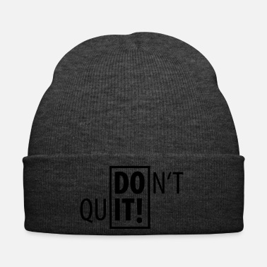 Sport DO IT! DON'T QUIT SPORT - Wintermütze
