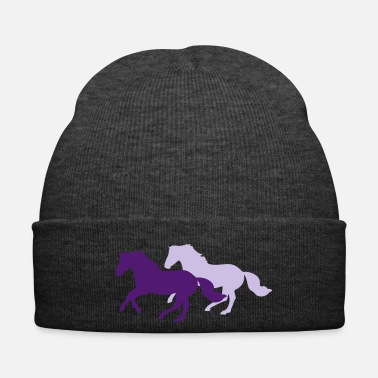 Change Two galloping horses - you can change all colours - Wintermuts
