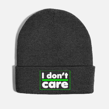 Gamer Humour - I don't care - Bonnet