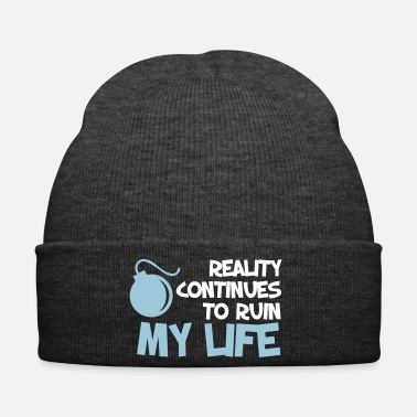 Quote Funny Quotes. Quote. Humor. gift - Winter Hat