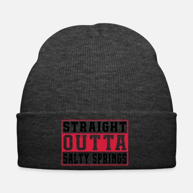 Anonymous Straight Outta Salty Ressorts Jeu - Bonnet d'hiver