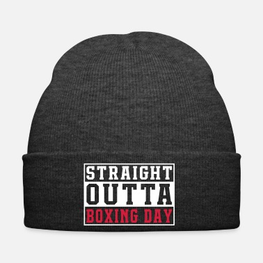 Anonymous Jeu Straight Outta Boxing Day - Bonnet d'hiver