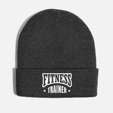 82245fd54cd8a2 Personal Trainer Fitness trainer with star - Winter Hat