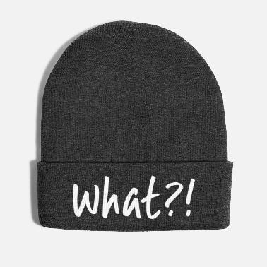 What What ?! - Winter Hat