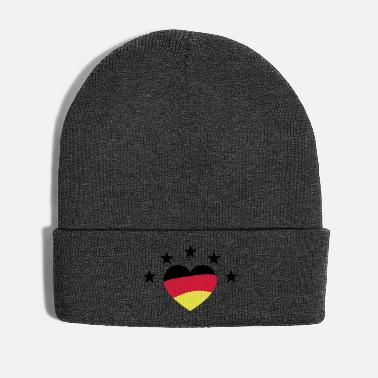 Sieg Germany Heart World Champion Football World Cup - Winter Hat