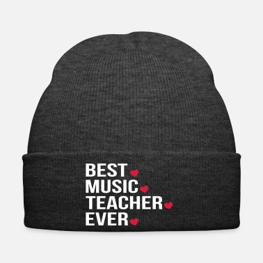 Instrument Best Music Teacher Ever - Winter Hat