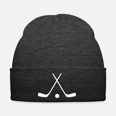 Hockey hockey sticks / hockey symbol - Wintermütze