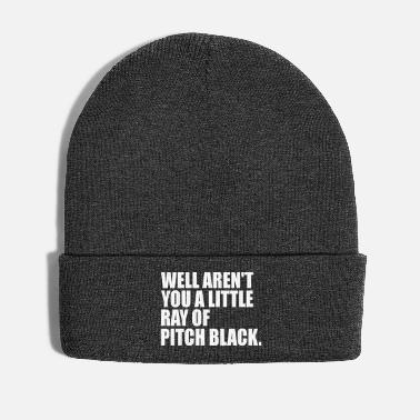 Pitch ray of pitch blck - Winter Hat