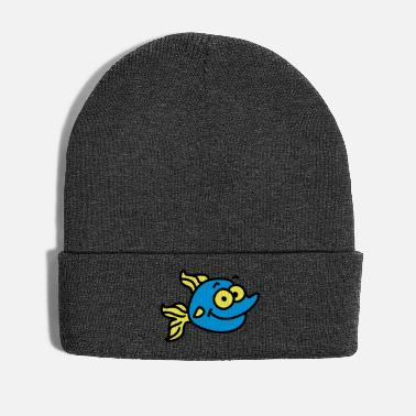 Googly Eyes funny fish - Winter Hat