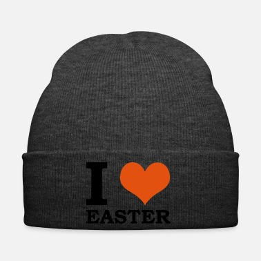 Hunting I Love Easter Easter Easter egg egg hunt Easter Bunny - Winter Hat