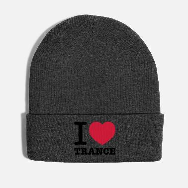 Music Trance I love trance music - Winter Hat