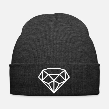 Nubile Diamond Brilliant Stone Noble Gem Glitter - Cappellino invernale