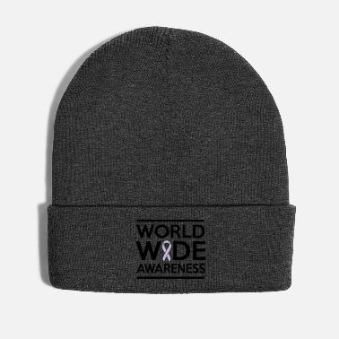 Awareness World Wide Awareness Ribbon - Winter Hat