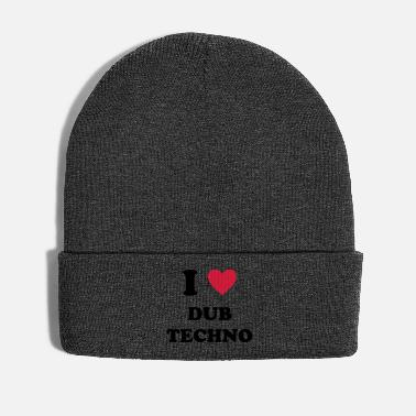 Dub I LOVE DUB TECHNO - Wintermütze