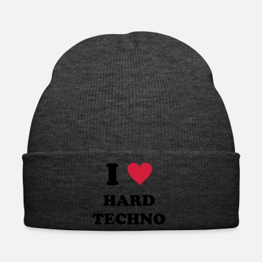 Turntable I LOVE HARD TECHNO - Pipo