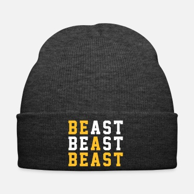 Workout BE A BEAST Typo Design Tulosta lainaus - Pipo