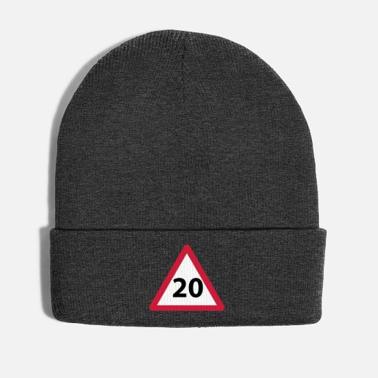 Birthday Caps & Hats - 20 birthday gift idea - Winter Hat asphalt