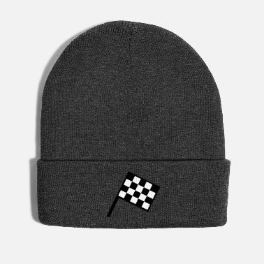 Course Automobile drapeau - course automobile - Bonnet