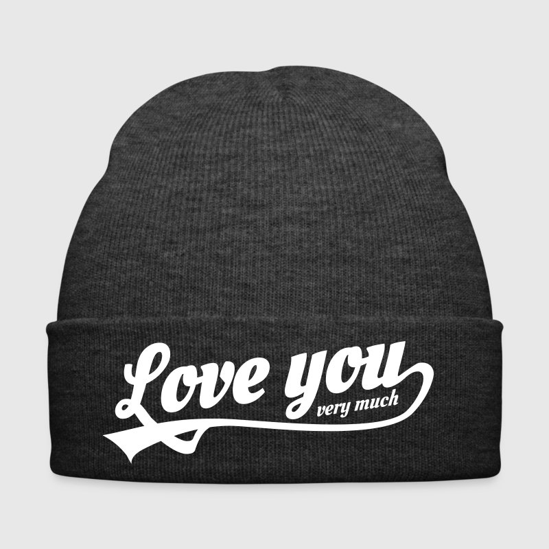 love you very much - Bonnet d'hiver