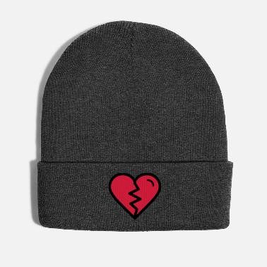 Heartache Broken heart, heartache, unhappy in love - Winter Hat