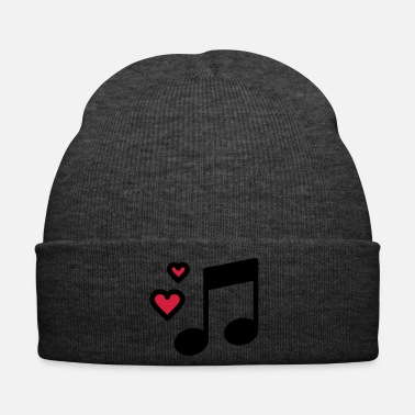 Romantic Romantic music note - Winter Hat