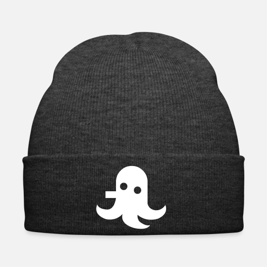 Jelly Caps & Hats - Jelly Fish Fish Squid Monster Comic Manga - Winter Hat asphalt