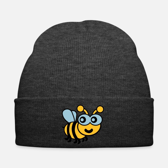Bee Caps & Hats - Bee - Winter Hat asphalt