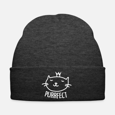 Kawaii Purrfect Cute Cate - Gorro de invierno