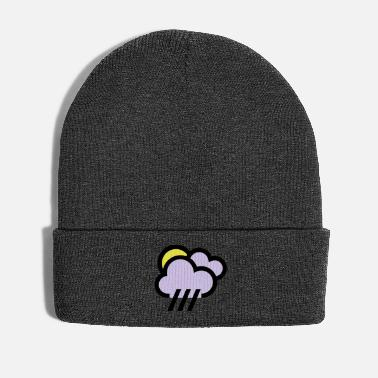 Weather Rainy weather, bad weather, chill icon - Winter Hat
