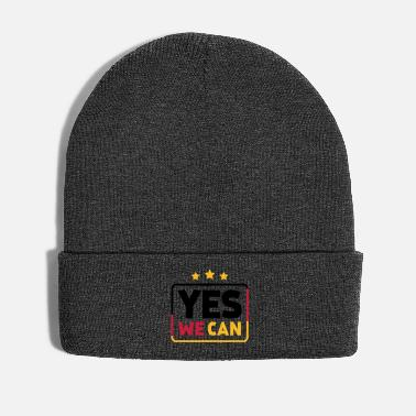 Yes We Can Yes we can Black Red Gold Germany soccer fan - Winter Hat