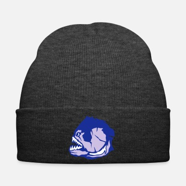 Tooth Piranha Piranas Micky Tooth Affects 1 - Winter Hat