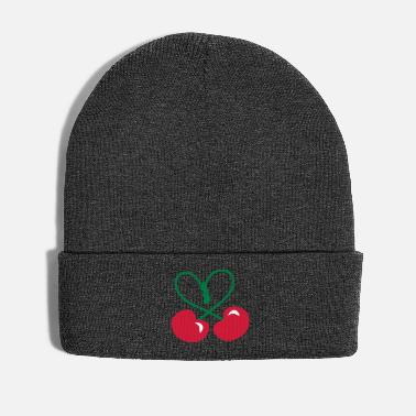 Rockabilly Rockabilly Cherry Heart Symbol patjila 2014 - Winter Hat