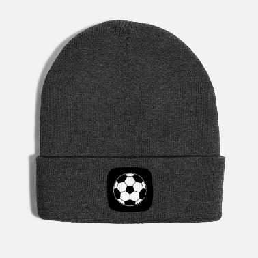Sports Icono Football Ball Deporte Ball Sports - Gorro de invierno