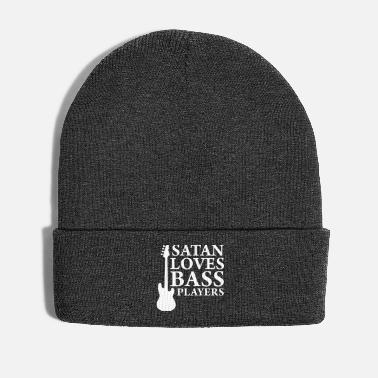 Bass Player Satan loves bass players - Winter Hat