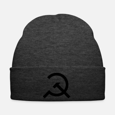 Communist Hammer and Sickle Communist Design - Winter Hat