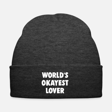 Pickup Line World's okayest lover - Winter Hat