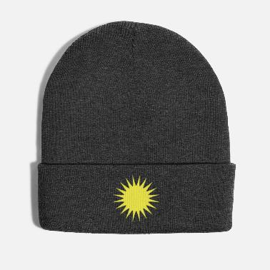 Pickup Line Sun (vector) - Winter Hat