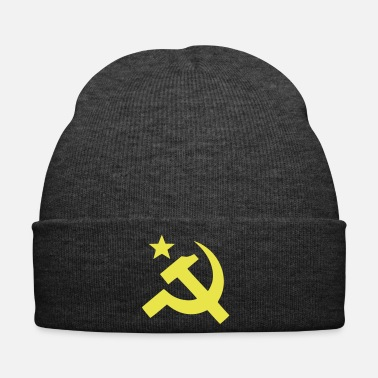 Communist Communist flag Sickle Hammer - Winter Hat