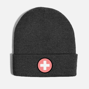 Cross Under The Sign Of The Switzerland - Winter Hat