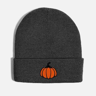 Clip Art orange pumpkin Halloween vector motif - Winter Hat