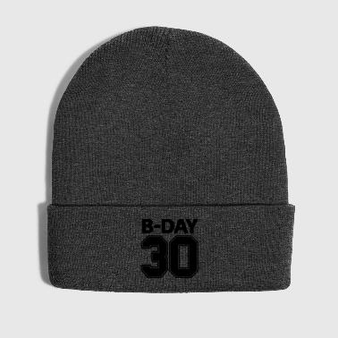 30th birthday number numbers jersey number - Winter Hat